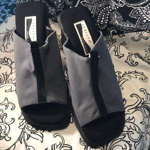 Caress Open Toe Slider Shoes